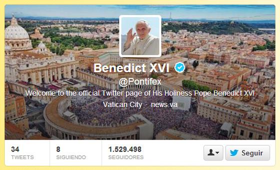 La renuncia de Benedicto XVI y la reacción en Twitter - benedicto-xvi