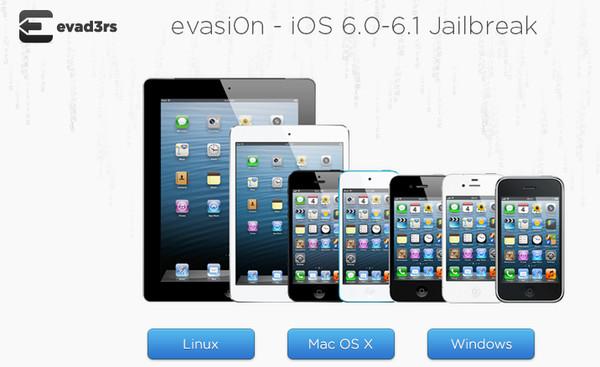 evasi0n ya actualizó el Jailbreak para iOS 6.1.1 del iPhone 4S - evasi0n