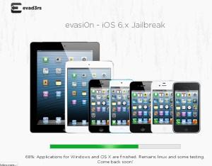 Apple actualizó iOS a 6.1.2 y ahora Evasi0n lanza el respectivo Jailbreak