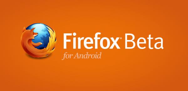 Firefox beta ya está disponible en Android con nueva pestaña privada - firefox-beta-android-600x292