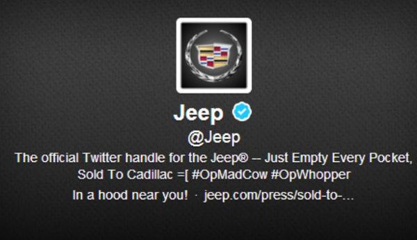 Hackean la cuenta de Twitter de la marca Jeep - hackean-cuenta-de-twitter-de-jeep