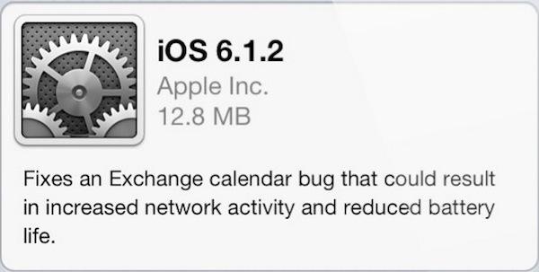 iOS 6.1.2 es lanzado por Apple - iOS-6-1-2