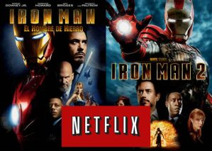 Iron Man, Iron Man 2 y otras películas de Paramount Pictures ya disponibles en Netflix