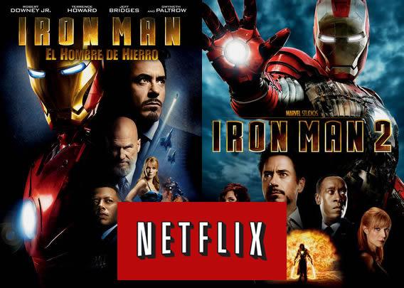 iron man netflix paramount Iron Man, Iron Man 2 y otras películas de Paramount Pictures ya disponibles en Netflix