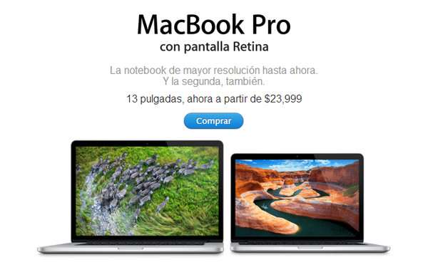 Apple baja de precio a los MacBook Pro Retina y los MacBook Air - macbook-pro-retina-descuento