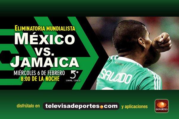 mexico jamaica en vivo eliminatoria mundialista brasil 2014 México vs Jamaica en vivo (Eliminatoria Mundialista Brasil 2014)