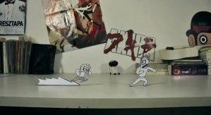 Paper War, excelente y divertido corto animado