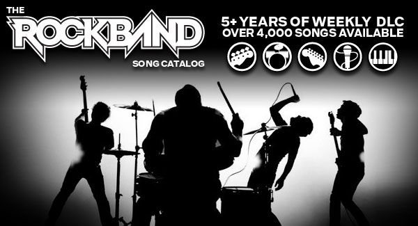 rock band dlc Rock Band se despide de las canciones descargables este 2 de abril