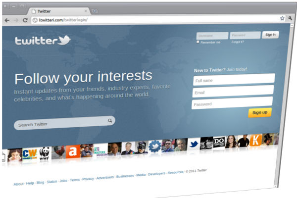 Twitter comienza a usar el protocolo de seguridad DMARC para reducir el phishing - twitter-victima-del-phishing