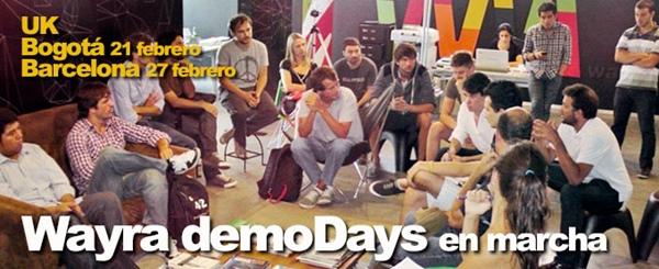 Wayra anuncia sus próximos DemoDays en Bogotá y Barcelona - wayra-demodays-bogota-barcelona