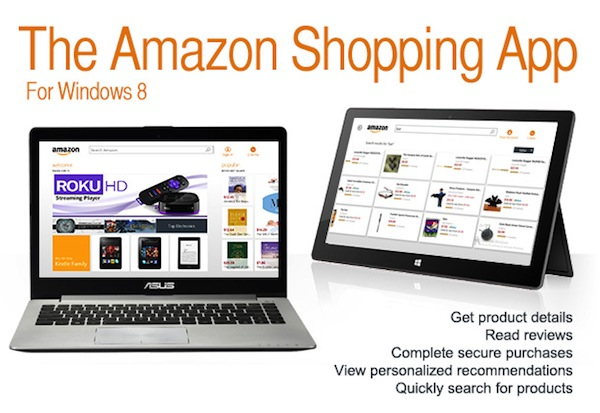 Amazon lanza aplicación de su tienda para Windows 8 y RT - Amazon-aplicacion-windows-8