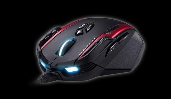 Mouse Gila y Teclado Manticore de Genius, dos dispositivos enfocados para los gamers - Mouse-Gila-Genius-1