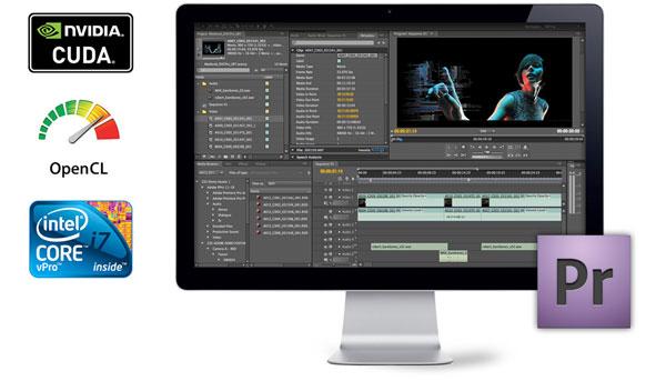 Editores de video para Windows - adobe-premiere