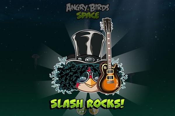 Slash reinterpretará una canción para Angry Birds Space - angry-birds-slash