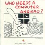 Matt Groening creador de Los Simpson, también diseñó para Apple - apple-students-guide-matt-groening