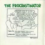 Matt Groening creador de Los Simpson, también diseñó para Apple - apple-the-procrastinator-matt-groening
