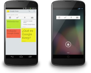Google presenta Google Keep, su servicio de notas similar a Evernote