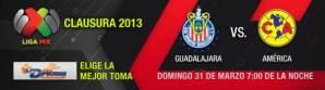 Ver Chivas vs América en vivo por Televisa