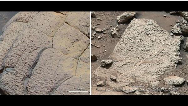 Revelan que pudo haber existido vida microbiana en Marte - muestras-de-curiosity-en-marte