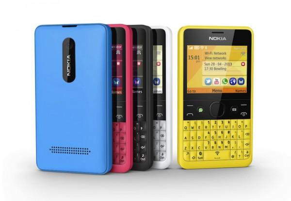 Nokia Asha 210, el primer teléfono con un botón para WhatsApp - Nokia-Asha-210-600x414