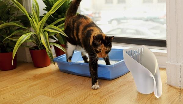 3 ingeniosos gadgets para tu gato - Scute