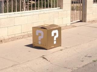 Un cubo de Super Mario Bros aparece en una calle de EEUU y desata el pánico - cajamario-tempe