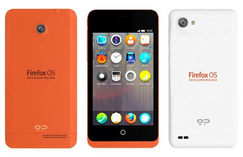 Salen a la venta los primeros smartphones con Firefox OS - geeksphone