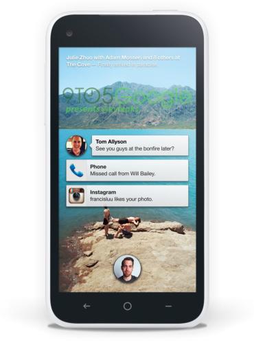 Se fitran capturas del nuevo Facebook Home para Android y del posible teléfono - middle