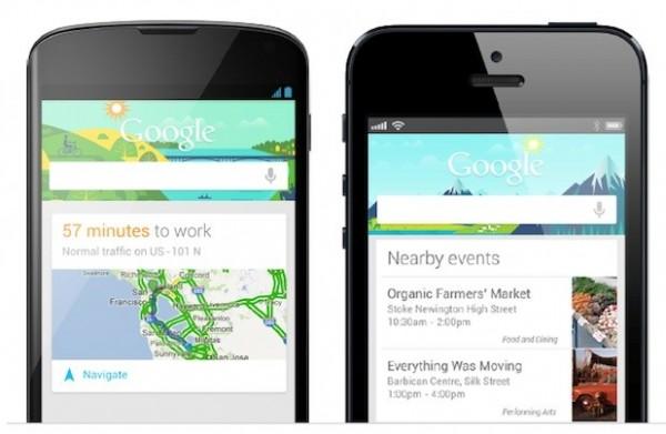 Google Now llega a iOS a través de la misma actualización de búsquedas de Google - nowios-600x391