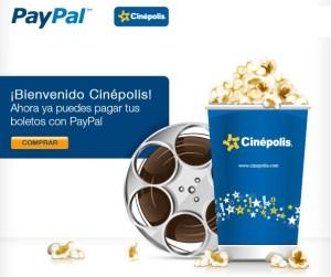 Cinépolis ya acepta pagos con PayPal