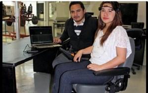 Proyecto Mexicano de una silla de rueda que se mueve con el pensamiento