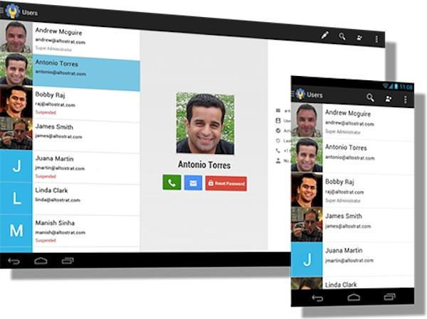 Google lanza aplicación para Android para gestionar sus Google Apps - Google-Admin