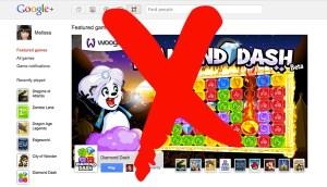 Los juegos de Google+ cerrarán el 30 de junio
