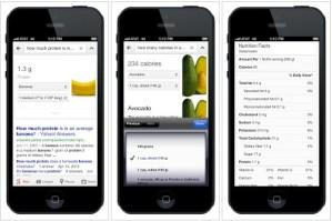 Google Now ahora ofrece información nutricional