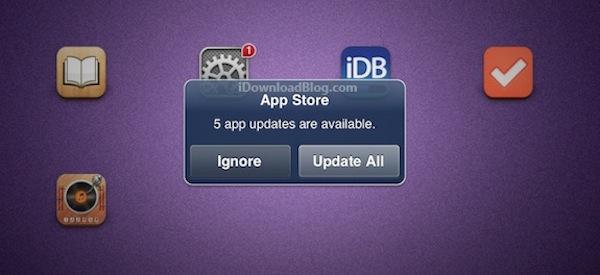Apple comienza a notificar a sus usuarios sobre las actualizaciones de sus aplicaciones - Notificaciones-app-store
