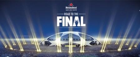 Heineken presenta «Road to the Final» el proceso que te llevó a ver la final de la UEFA Champions League