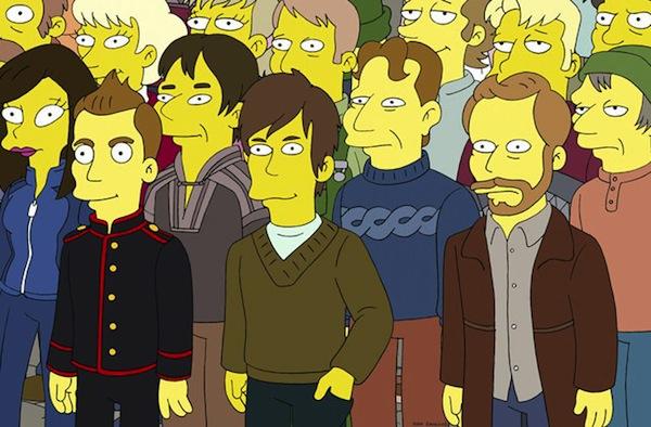 Sigur Rós aparecerá en Los Simpsons - Sigur-Ros-Simpsons