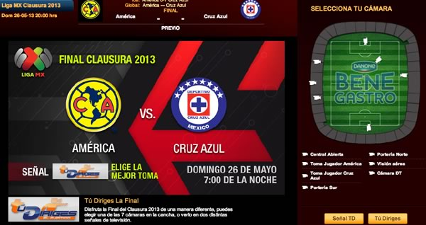 america cruz azul en vivo final América vs Cruz Azul en vivo, Final Clausura 2013