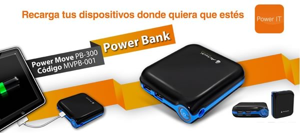 Power Bank de Acteck, un cargador portable para celular - bateria-portatil-acteck
