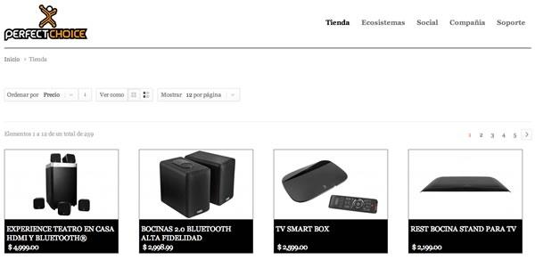 Perfect Choice lanza su tienda en línea en perfectchoice.me - comprar-online-perfetc-choice