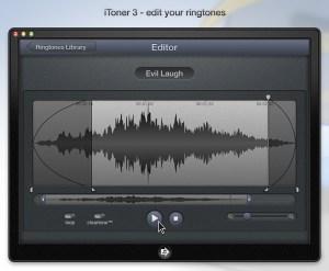 Crear tonos para iPhone y iPad con iToner 3 para Mac