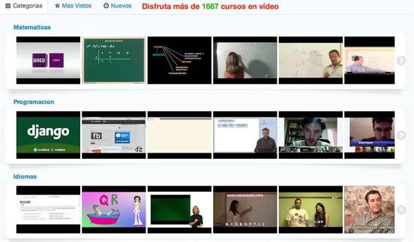 Cursos de programación, diseño, y otros temas en video y en español gracias a Edutin.com - cursos-videos-gratis