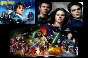 Datos curiosos sobre 3 sagas famosas: Harry Potter, Star Wars y Crepúsculo