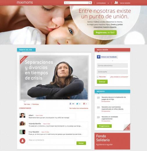 Miximoms.com, una red social para madres - red-social-madres