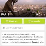 Planea las actividades de tu viaje con TouristEye - touristeye-venue