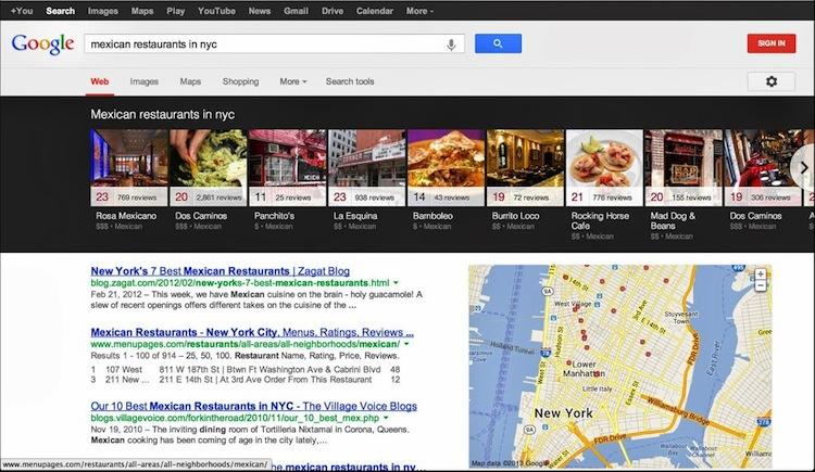 """Google mejora su buscador y presenta el """"carrusel de resultados locales"""" - Carrusel-de-resultados"""