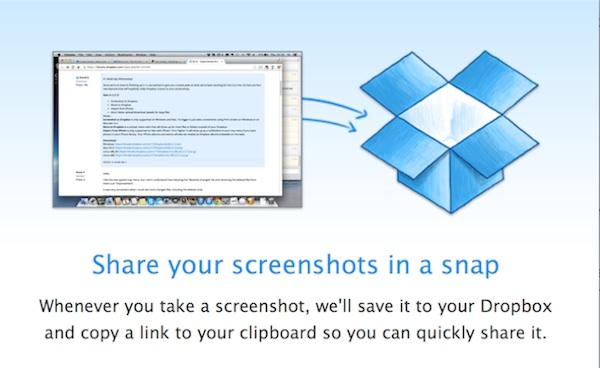 Nueva beta de Dropbox permite a los usuarios compartir capturas de pantalla - Dropbox-beta