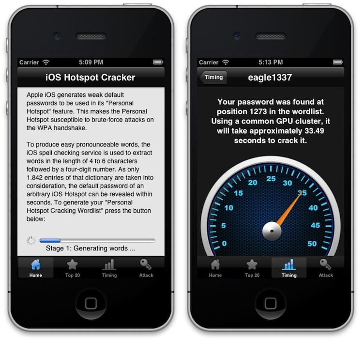 Investigadores logran descifrar las claves por defecto del HotSpot Wi-Fi de iOS - Sacar-claves-ios-hotspot