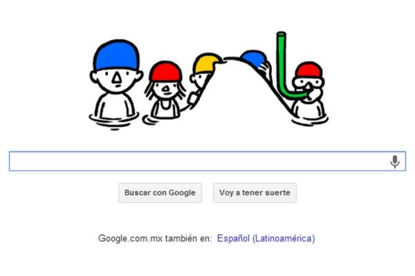 Google nos presenta doodle en alusión al primer día de verano - doodle-del-primer-dia-de-verano