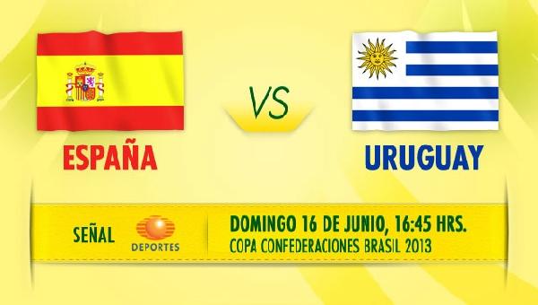 España vs Uruguay en vivo por Televisa Deportes, Copa Confederaciones 2013 - espana-uruguay-en-vivo-copa-confederaciones-2013